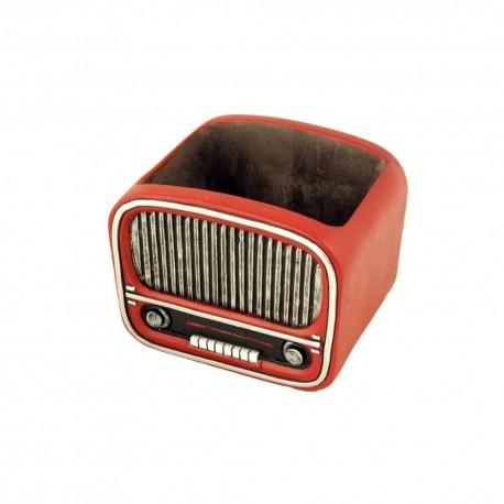 Macetero Radio Vintage Mediana Interior