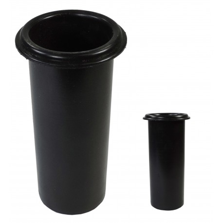 Deposito Vaso Cilindro Negro D-55
