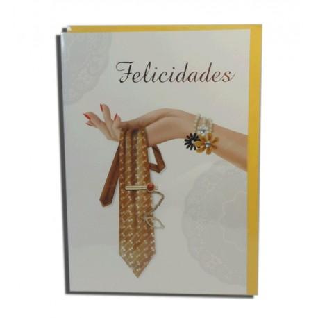 "Tarjeta ""Felicidades"" Corbata"