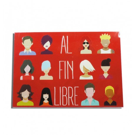 """Tarjeta """"Al fin Libre"""""""
