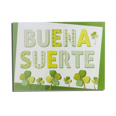 """Tarjeta """"Buena Suerte"""""""