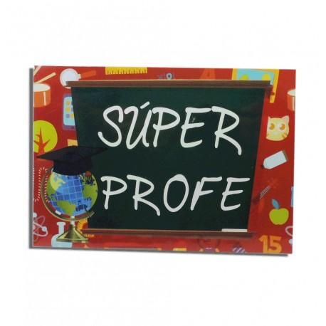 "Tarjeta ""Super Profe"""