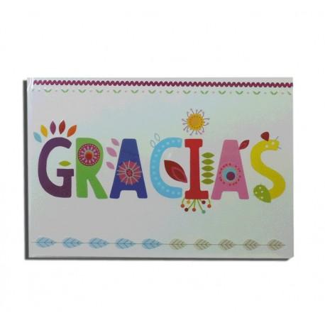 """Tarjeta """"Gracias"""""""