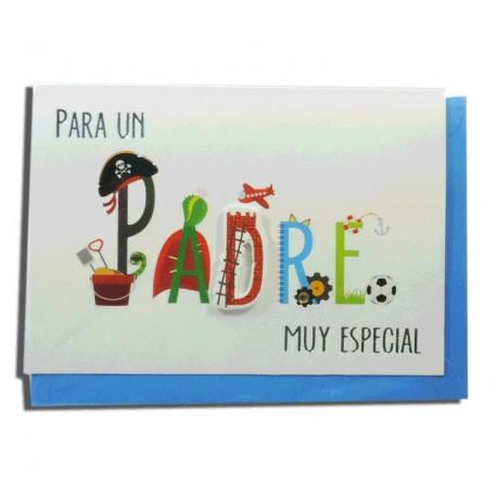 """Tarjeta """"Para un Padre muy Especial"""""""