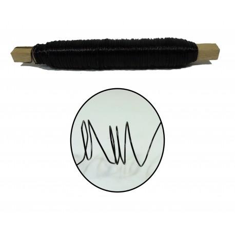 Rollo Alambre 0.5 mm Negro