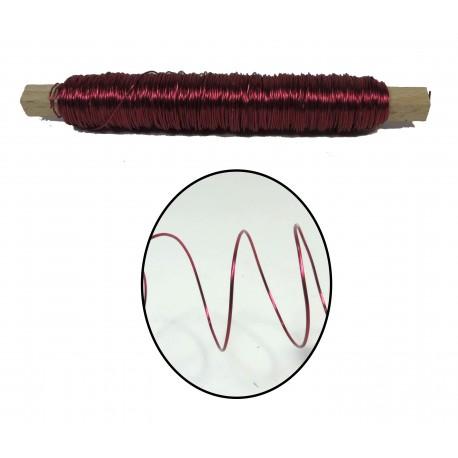 Rollo Alambre 0.5 mm Fucsia