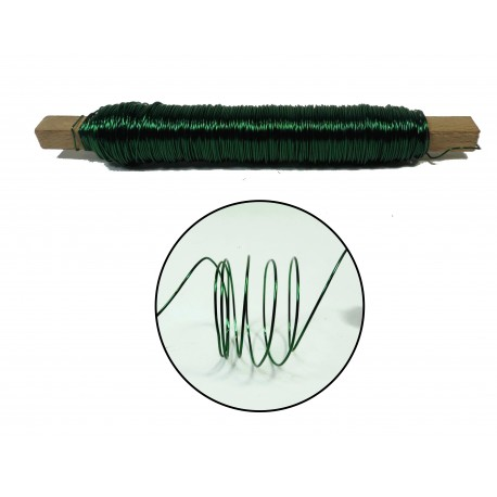 Rollo Alambre 0.5 mm Verde
