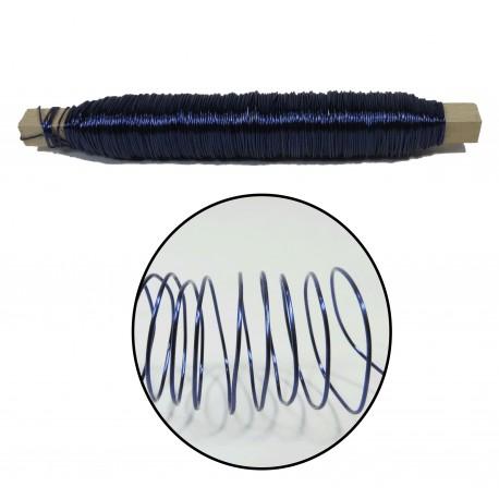 Rollo Alambre 0.5 mm Azul