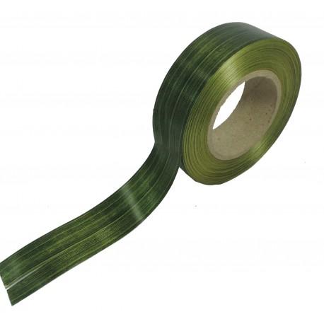Cinta Plástico Vetas Verde 30mm