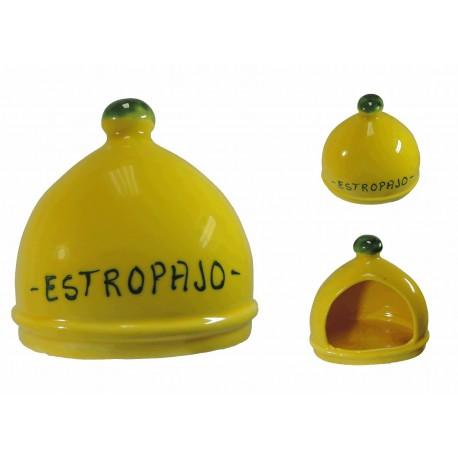 Estropajero Amarillo Ceramica