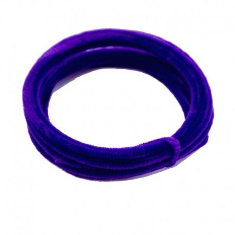 Chenilla Alambrada 5mts Púrpura