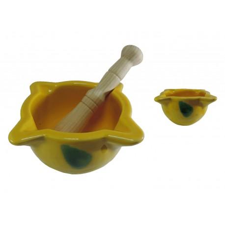 Mortero Amarillo Ceramica