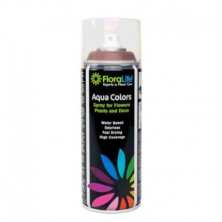 Spray Aqua Color 400ml Marrón