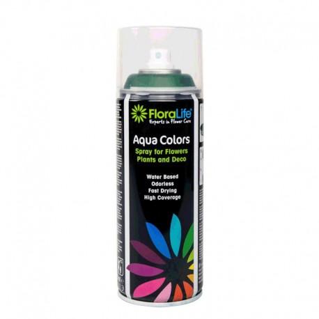 Spray Aqua Color 400ml Verde Botella