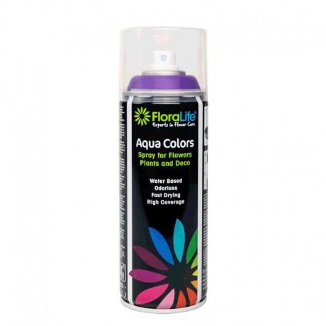 Spray Aqua Color 400ml Violeta