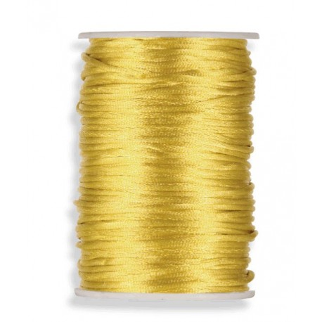 Cola de Ratón 2mm x 100mts Oro