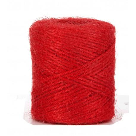 Cordon Yute Rojo 100 gr