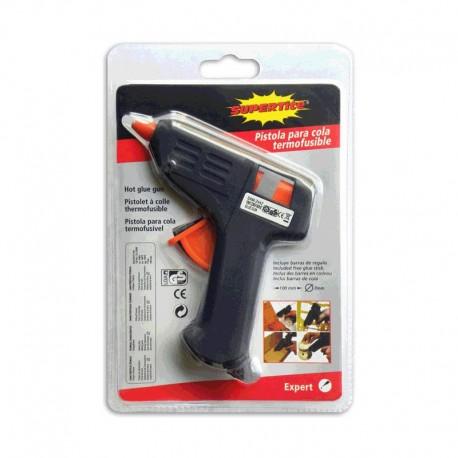 Pistola silicona termofusible Mini