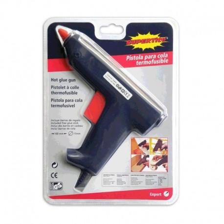 Pistola silicona termofusible Maxi