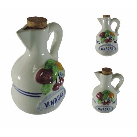 Vinagrero Blanco Ceramica