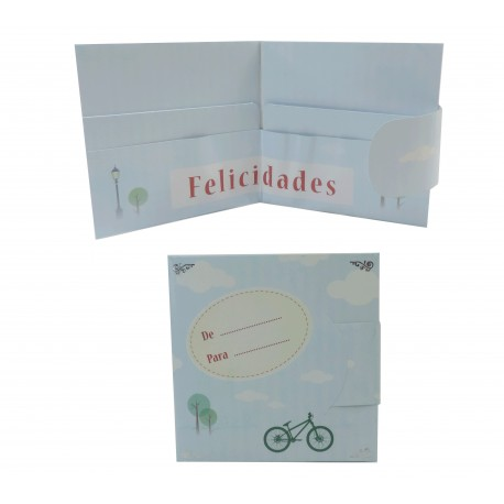 Billetero Cartera Bicicleta