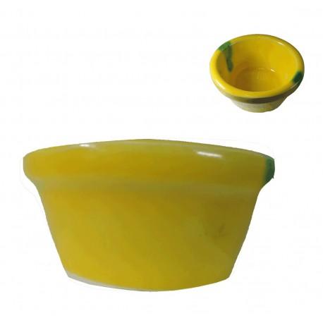 Lebrillo Amarillo Ceramica Ø8