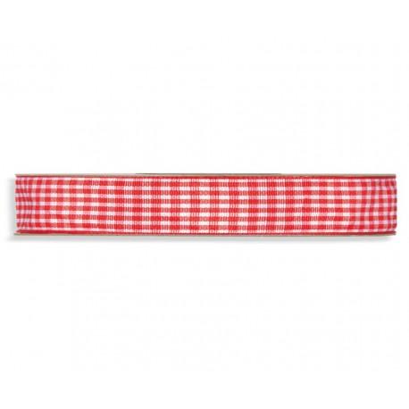 Lazo Cuadros 10mm x 20 mts Rojo