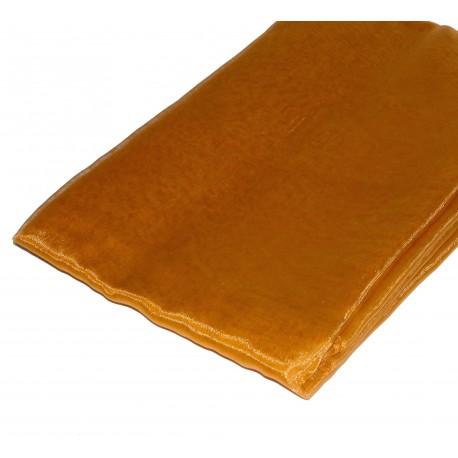 Tela Organza 1.45 x 3 mts Oro