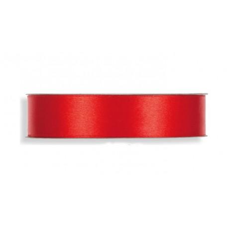 Cinta Raso 25mm x 50mts Rojo