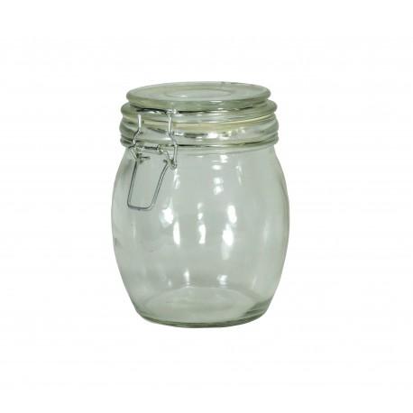 Bote Cristal Hermetico Redondo 550 ml