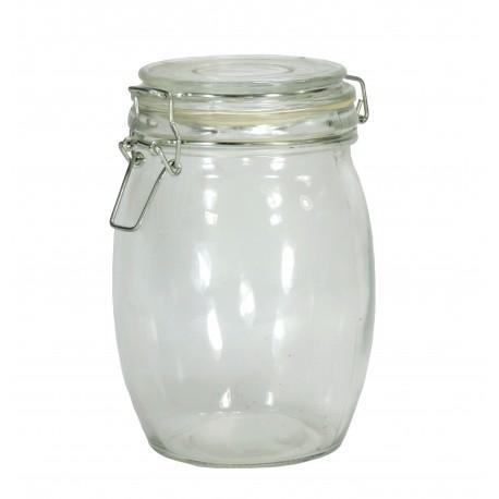 Bote Cristal Hermetico Redondo 650 ml