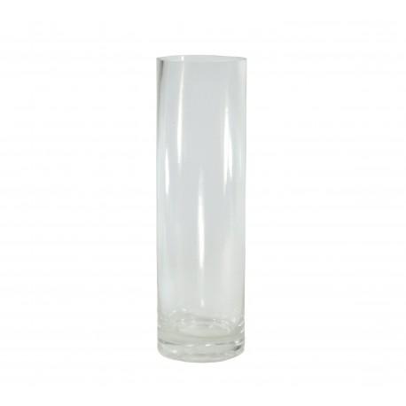 Vaso Cilindro Cristal Ø6 x ↕20 cm