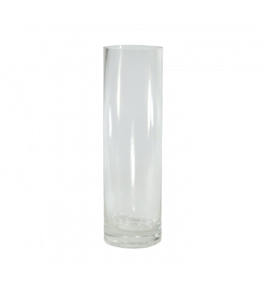 Vaso cilindro cristal 6 x 20 cm - Vasos grandes cristal ...
