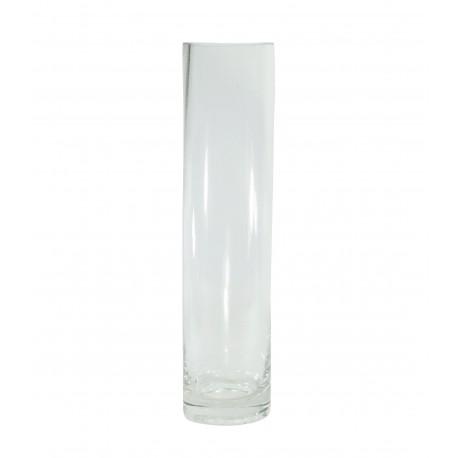Vaso Cilindro Cristal Ø6 x ↕25 cm