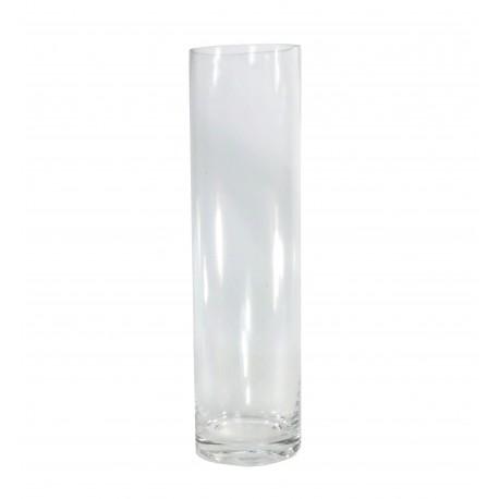 Vaso Cilindro Cristal Ø8 x ↕30 cm