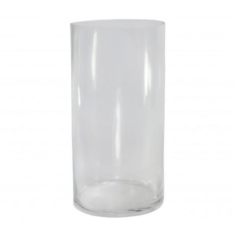 Vaso Cilindro Cristal Ø10 x ↕20 cm