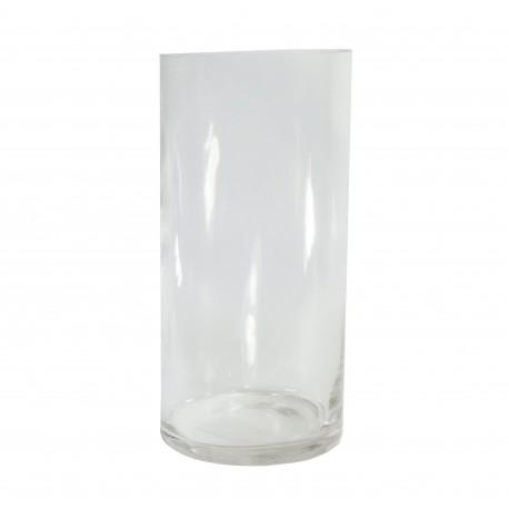 Vaso Cilindro Cristal Ø12 x ↕25 cm