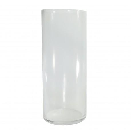 Vaso Cilindro Cristal Ø12 x ↕30 cm