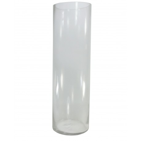 Vaso Cilindro Cristal Ø12 x ↕40 cm