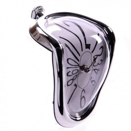 Reloj Derretido Marco Plata
