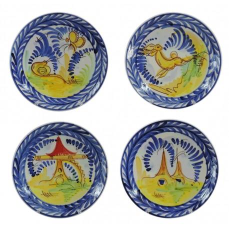 Plato de Colgar Liso Ceramica Ø27 cm
