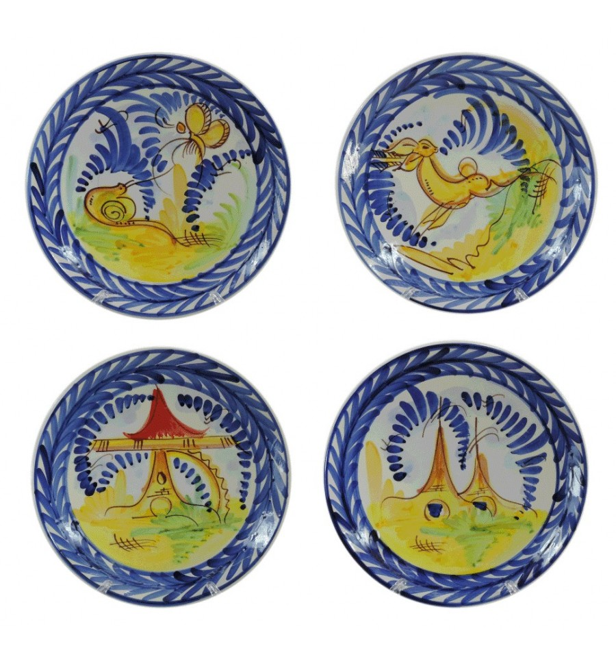 Plato de colgar liso ceramica 27 cm - Platos ceramica colores ...
