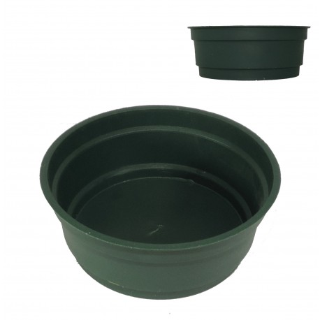 Centro Plástico Verde Ø8 cm