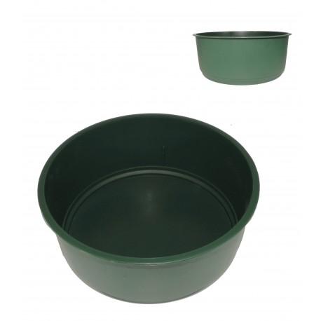 Centro Plástico Verde Ø16 cm