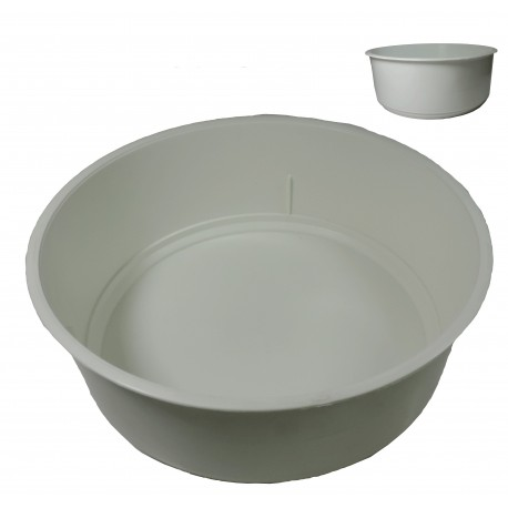 Centro Plástico Blanco Ø18 cm