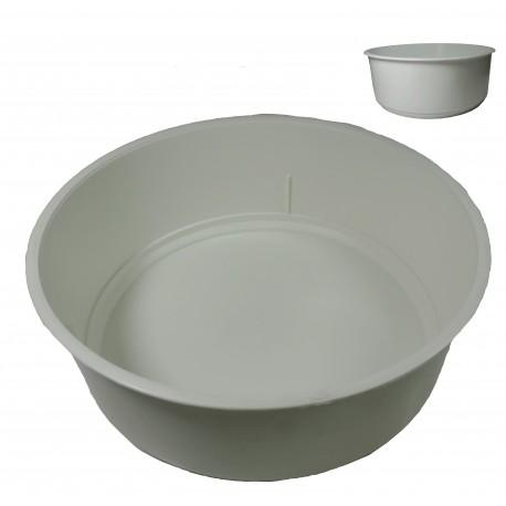 Centro Plástico Blanco Ø20 cm