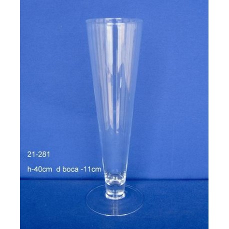 Cono Cristal H.40 D.Boca 11 cm