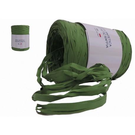 Rafia Sintética 200 Mts x 5 mm Verde