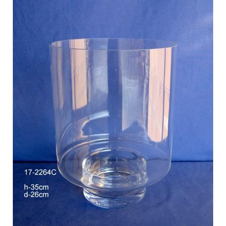 Jarrón Cristal H.35 D.26 cm