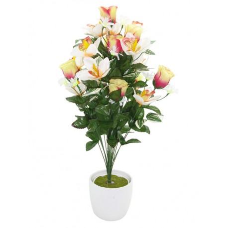 Ramo Capullos y Orquídeas